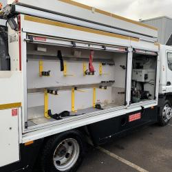 2012 (61) Mitsubishi Canter 7C18 4x2 Jetting Unit