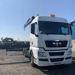 2008 (08) MAN 26.480 6x4 Tractor Unit with Crane