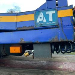 2006 Andover 2 axle drawbar trailer