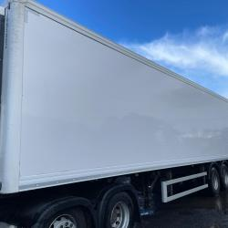 2015 Cartwright 3 axle refrigerated trailer