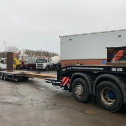 2015 Faymonville 4 axle low loader trailer